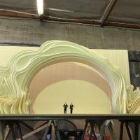 Oscars Set Maquette (2019) 1/12 scale urethane foam