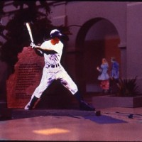 Jackie Robinson Proposal - Maquette, 1994 (with Phillip Vaughan)