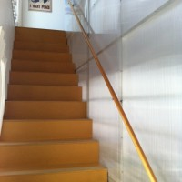 Polygall Wall, Medex Stairs and Fir Banister 2009