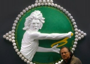 Chris Hopkins artist, Billie Jean King