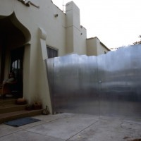 Moorish Gate, 1998, aluminum.